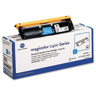 Konica-Minolta 1710587-003 Cyan Toner Cartridge Original Genuine OEM