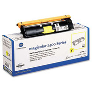 Konica-Minolta 1710587-005 High Yield Yellow Toner Cartridge Original Genuine OEM