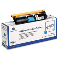 Konica-Minolta 1710587-007 High Yield Cyan Toner Cartridge Original Genuine OEM