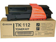 Kyocera Mita TK-112 Black Toner Cartridge Original Genuine OEM