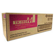 Kyocera Mita TK-592M Magenta Toner Cartridge Original Genuine OEM