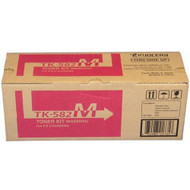 Kyocera Mita TK-582M Magenta Toner Cartridge Original Genuine OEM