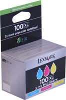 Lexmark 14N0684 3 Color Inkjet Cartridge Multipack Original Genuine OEM