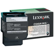 Lexmark C540A1KG Return Program Black Toner Cartridge Original Genuine OEM
