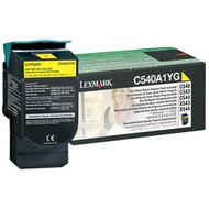 Lexmark C540A1YG Return Program Yellow Toner Cartridge Original Genuine OEM