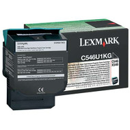 Lexmark C546U1KG Return Program Extra High Yield Black Toner Cartridge Original Genuine OEM