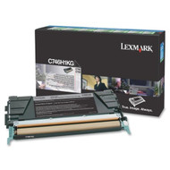 Lexmark C746H1KG High Yield Black Return Program Toner Cartridge Original Genuine OEM