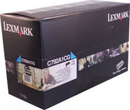 Lexmark C792A1CG Cyan Return Program Toner Cartridge Original Genuine OEM