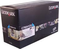 Lexmark C792A1CG Cyan Return Program Toner Cartridge Original Genuine OEM