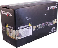 Lexmark C792A1YG Yellow Return Program Toner Cartridge Original Genuine OEM