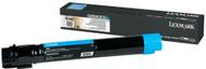 Lexmark C950X2CG Extra High Yield Cyan Laser Toner Cartridge Original Genuine OEM