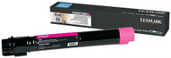 Lexmark C950X2MG Extra High Yield Magenta Laser Toner Cartridge Original Genuine OEM