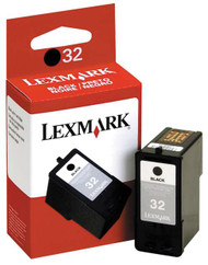 Lexmark 18C0032 (#32) Black Ink Cartridge Original Genuine OEM