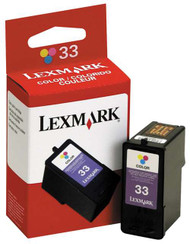 Lexmark 18C0033 (#33) Color Ink Cartridge Original Genuine OEM
