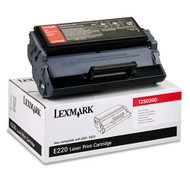 Lexmark 12S0300 Black Toner Cartridge Original Genuine OEM