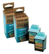 Lexmark 16G0096 (#60) Color Ink Cartridge 2-pack Original Genuine OEM