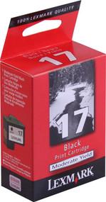 Lexmark 10N0217 Moderate Yield Black Ink Cartridge Original Genuine OEM