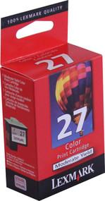 Lexmark 10N0227 Moderate Yield Color Ink Cartridge Original Genuine OEM