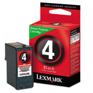 Lexmark 18C1974 (#4) Black Ink Cartridge Original Genuine OEM