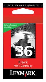 Lexmark 18C2130 (#36) Return Program Black Ink Cartridge Original Genuine OEM