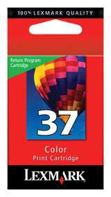 Lexmark 18C2140 (#37) Return Program Color Ink Cartridge Original Genuine OEM