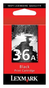 Lexmark 18C2150 (#36A) Black Ink Cartridge Original Genuine OEM