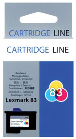 Lexmark 18L0042 (#83) Color Ink Cartridge Original Genuine OEM