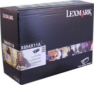 Lexmark X654X11A Return Program Extra High Yield Black Toner Cartridge Original Genuine OEM