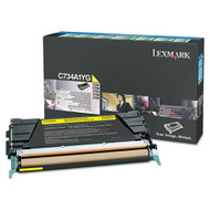 Lexmark X746A1YG Yellow Return Program Toner Cartridge Original Genuine OEM