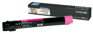 Lexmark X950X2MG Extra High Yield Magenta Toner Cartridge Original Genuine OEM