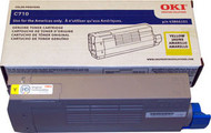 Oki 43866101 Yellow Laser Toner Cartridge Original Genuine OEM