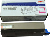 Oki 43866102 Magenta Laser Toner Cartridge Original Genuine OEM
