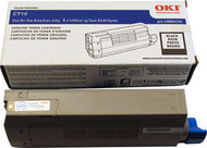 Oki 43866104 Black Laser Toner Cartridge Original Genuine OEM