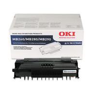 Okidata 56123402 Black Toner Cartridge Original Genuine OEM