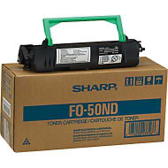 Sharp FO-50ND Black Toner Cartridge Original Genuine OEM