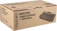 Ricoh 402455 (Type BP20) Black Toner Cartridge Original Genuine OEM