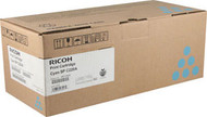 Ricoh 406047 Cyan Toner Cartridge Original Genuine OEM