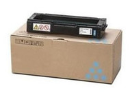 Ricoh 406345 Cyan Toner Cartridge Original Genuine OEM