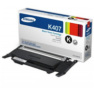 Samsung CLT-K407S Black Toner Cartridge Original Genuine OEM