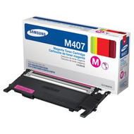 Samsung CLT-M407S Magenta Toner Cartridge Original Genuine OEM