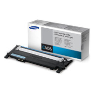 Samsung CLT-C406S Cyan Toner Cartridge Original Genuine OEM