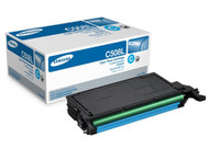 Samsung CLT-C508L Cyan Toner Cartridge Original Genuine OEM