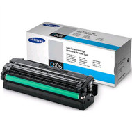 Samsung CLT-C506L Cyan Toner Cartridge Original Genuine OEM