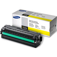 Samsung CLT-Y506L Yellow Toner Cartridge Original Genuine OEM