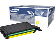 Samsung CLT-Y609S Yellow Toner Cartridge Original Genuine OEM