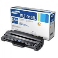 Samsung MLT-D105L High Yield Black Toner Cartridge Original Genuine OEM