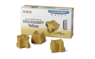Xerox 108R00725 3 Pack Yellow Ink Sticks Original Genuine OEM