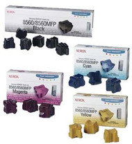 Xerox Original Genuine Phaser 8560 Ink Stick Value Bundle (All 15 Sticks 6K, 3C, 3M, 3Y)
