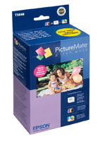 "Epson T5846 Photo Ink Cartridge & 150 Sheets of Glossy 4"" x 6"" Photo Paper Original Genuine OEM"