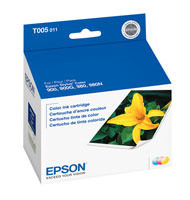 Epson T005011 Tri-Color Ink Cartridge Original Genuine OEM